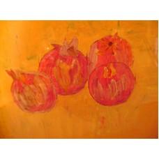 Maison Huit - aquarelle et la peinture à l'huile par Armen