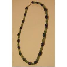 Maison Huit Collier - Necklace 00099999dark-light-green-jade