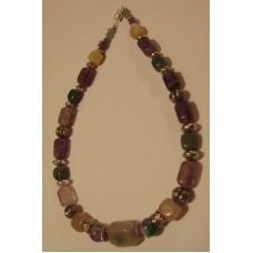 Maison Huit Collier - Necklace 000989jade-agate-amethyst-opal