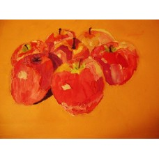 Painted apples by Armen