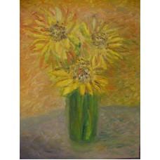 Maison Huit oil on canvas by Armen - for Vincent